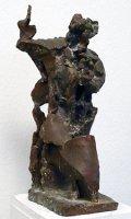 Sylvia Hagen: Heilige Barbara, Bronze, 2004