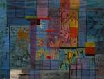 Curt Lahs: Fenster, Tempera, 1948