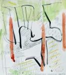 Licht, Tusche, Bleistift, Aquarell, 1990