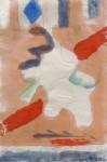 Lichtfleck, Bleistift, Aquarell auf Japanpapier, 2010