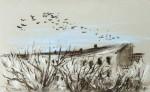 Winterstimmung, Pastell, 1995